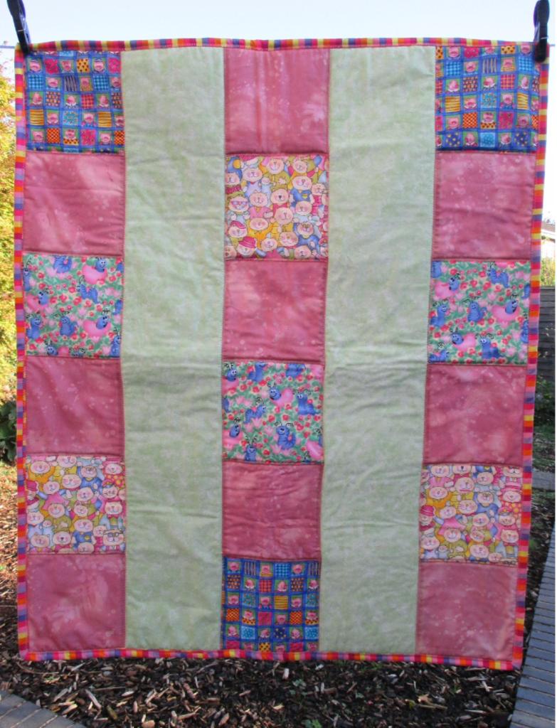Quick scrappy quilt