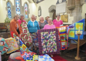 Church quilt exhibition