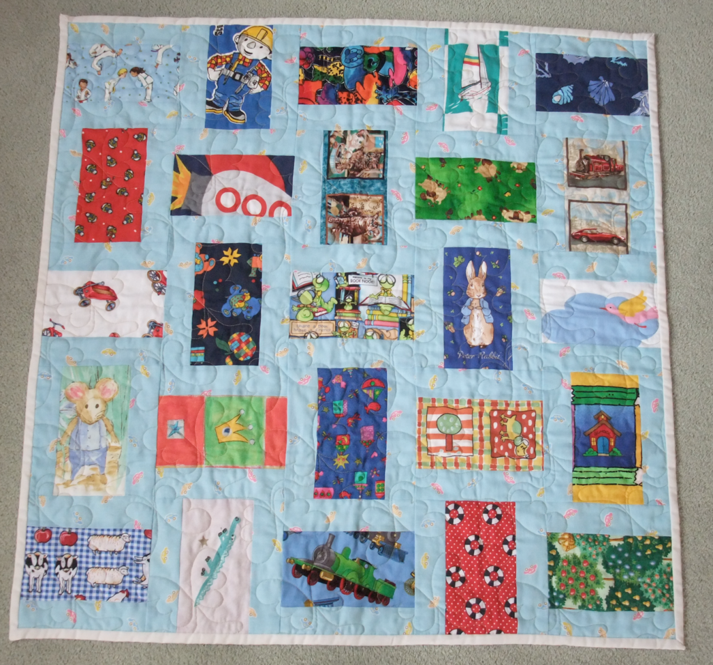 2-4-7 character quilt