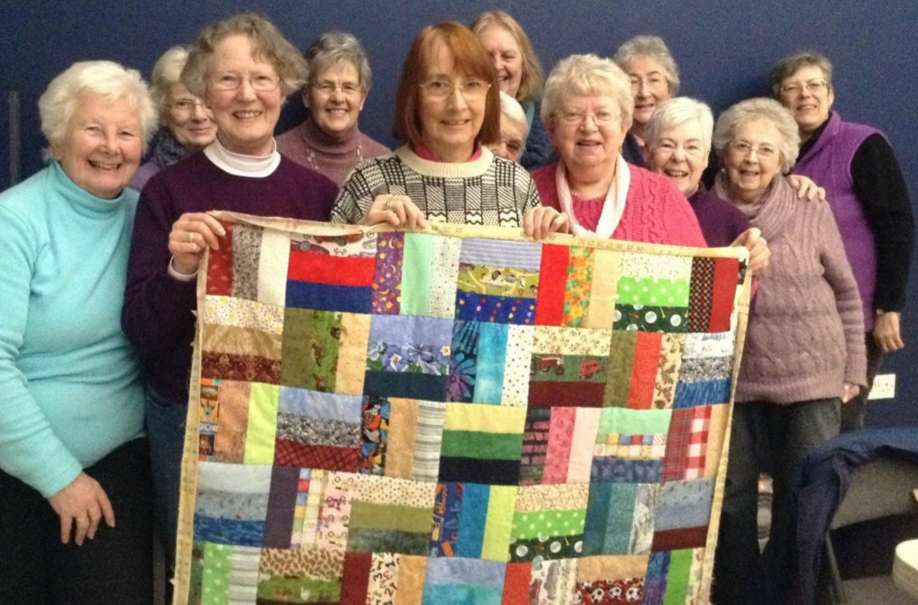 Quilting day 1-17-news